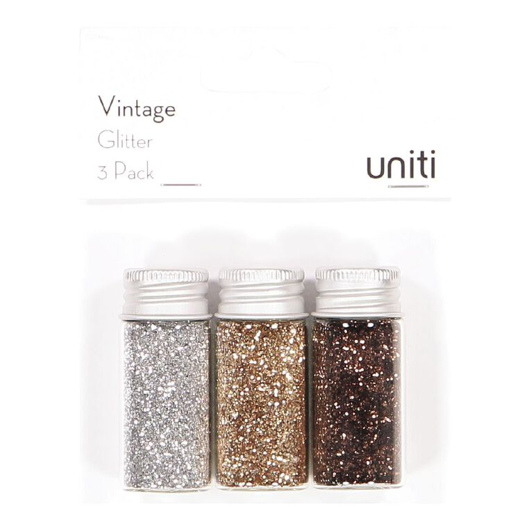 Uniti Vintage Glitter 3 Pack, , hi-res