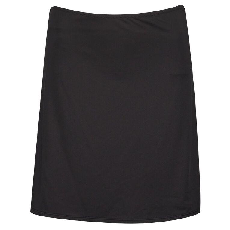 H&H Women's Half Slip, Black, hi-res