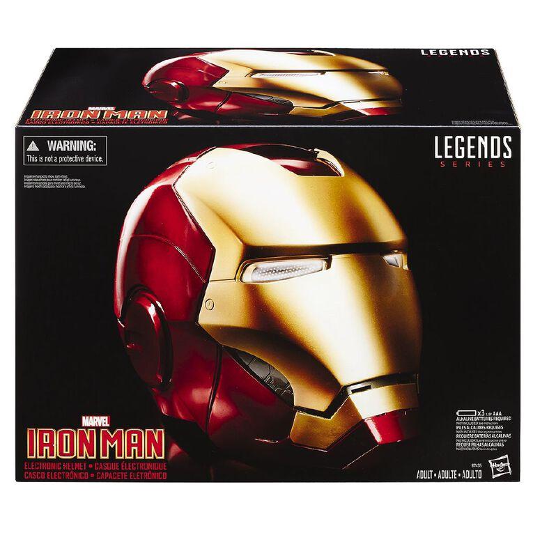 Avengers Iron Man Electronic Helmet, , hi-res