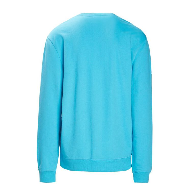 Sesame Street Men's Lounge Sweatshirt, Blue, hi-res