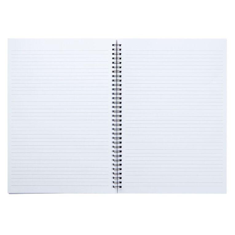 Uniti Geo Notebook Spiral Softcover Multi-Coloured A4, , hi-res