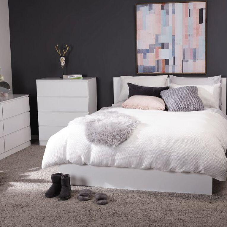 Living & Co Whistler Bedside Table White, , hi-res image number null