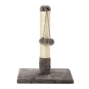 Petzone Cat Scratching Pole With 2 Hanging Balls