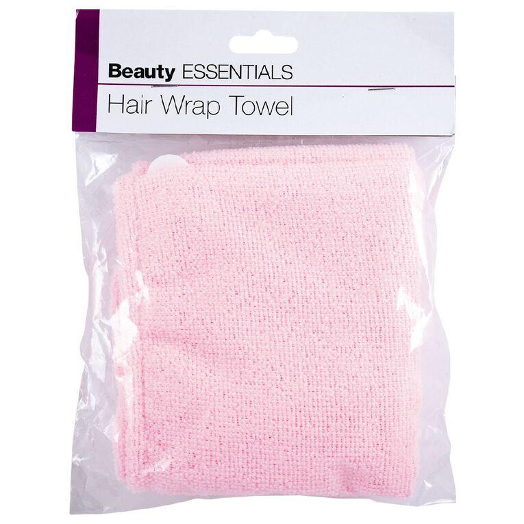 Beauty Essentials Hair Towel, , hi-res