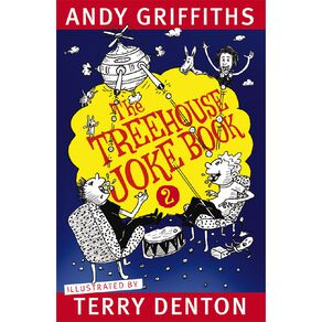 The Treehouse Joke Book #2 by Andy Griffiths & Terry Denton