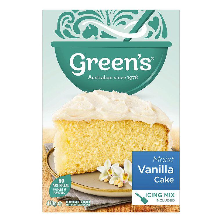 Green's Traditional Vanilla Cake 440g, , hi-res