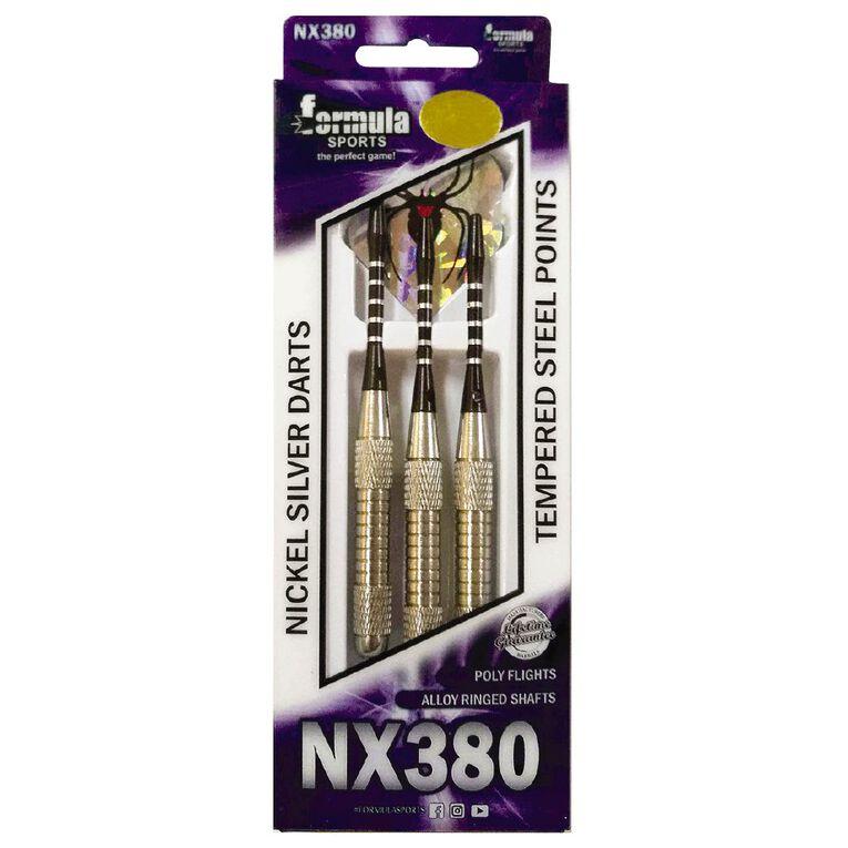 Formula Sports NX380 Nickel Silver Darts, , hi-res