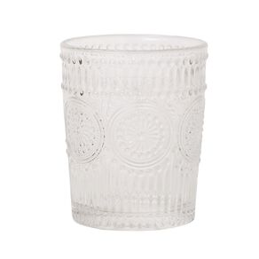 Living & Co Boho Moroccan Double Old Fashion Glass 4 Pack