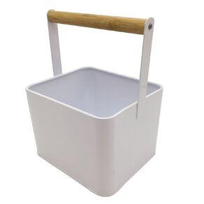 Living & Co Peg Storage Tin White