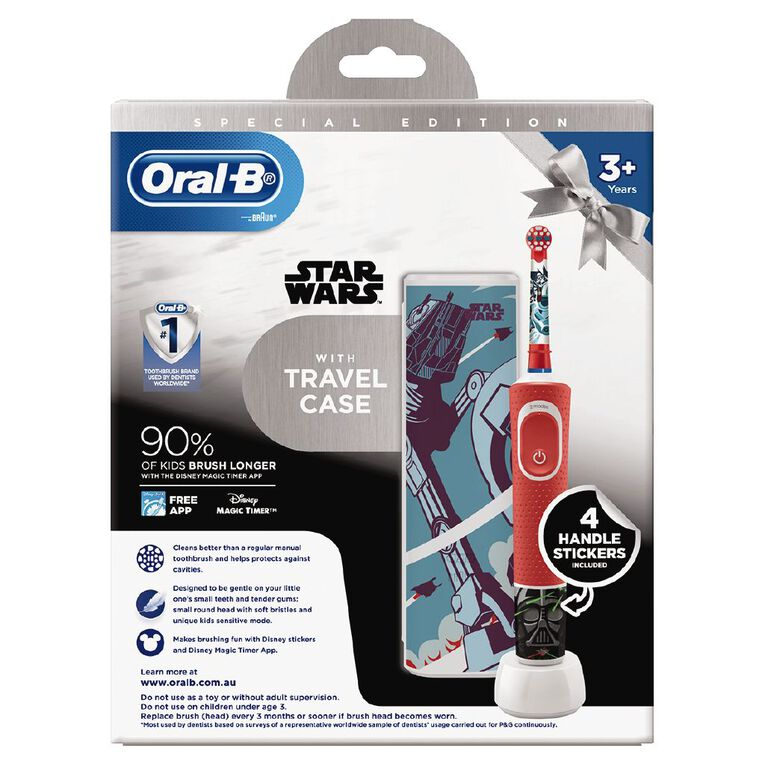 Oral-B Pro100 Kids Powered Toothbrush Assorted, , hi-res