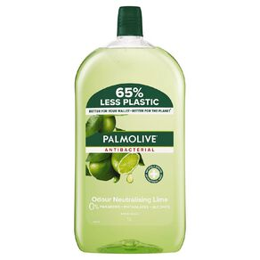 Palmolive Antibacterial Liquid Hand Wash Refill Lime 1L