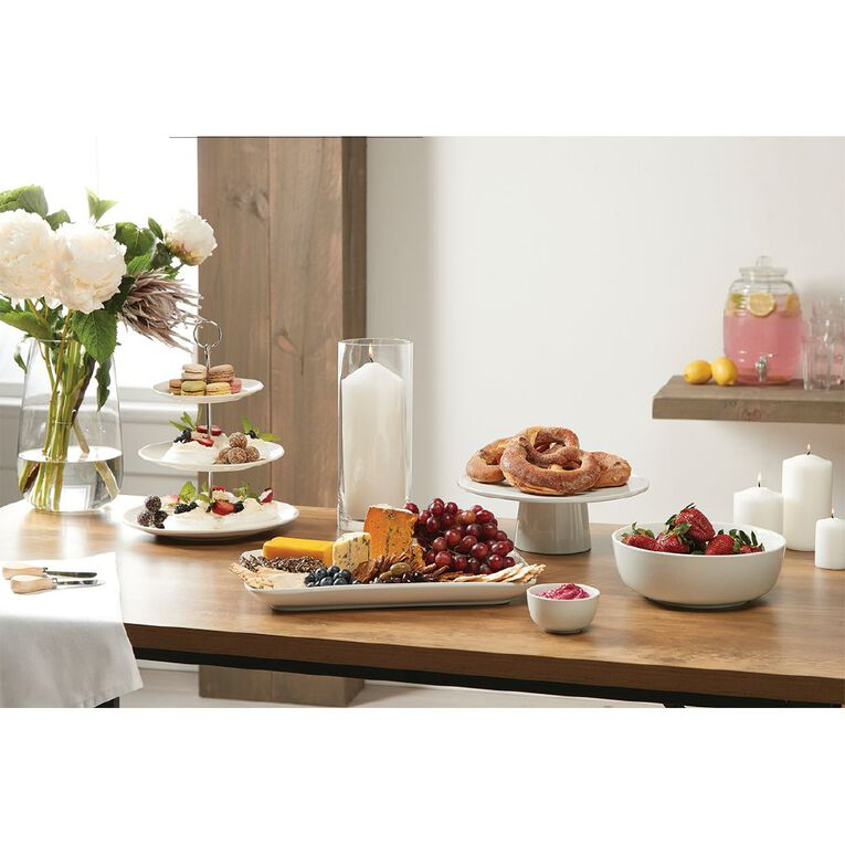 Living & Co Cupcake Stand White 3 Tier, , hi-res