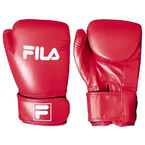 Fila Boxing Glove Red 12oz Red