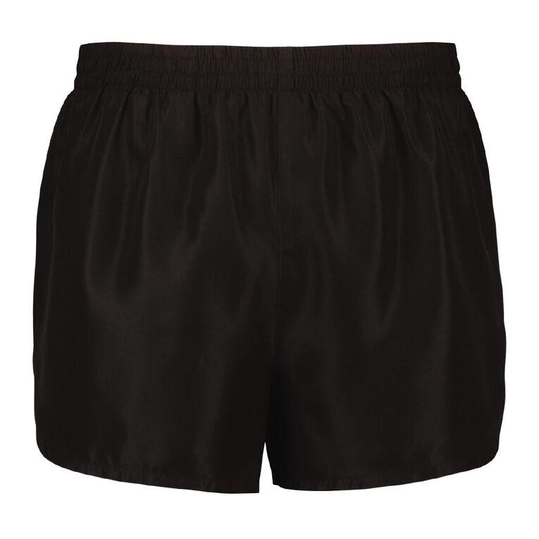 Active Intent Men's Running Shorts, Black, hi-res