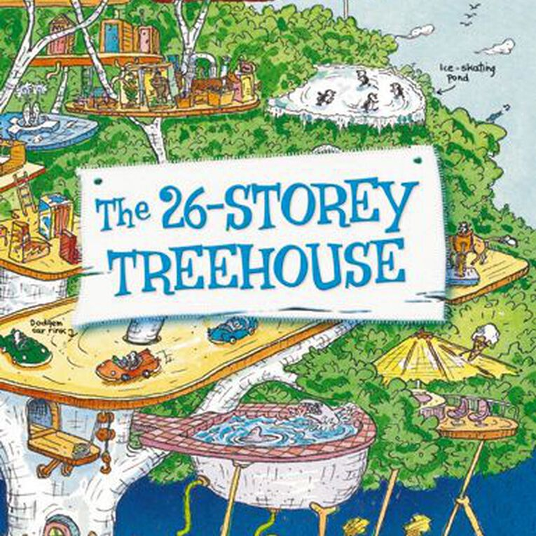 The 26 Storey Treehouse by Andy Griffiths & Terry Denton, , hi-res