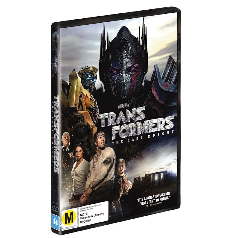Transformers The Last Knight DVD 1Disc, , hi-res
