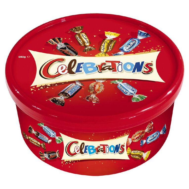 Mars Celebrations Tub 692g, , hi-res