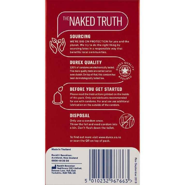 Durex Condoms Thin Feel 12s, , hi-res