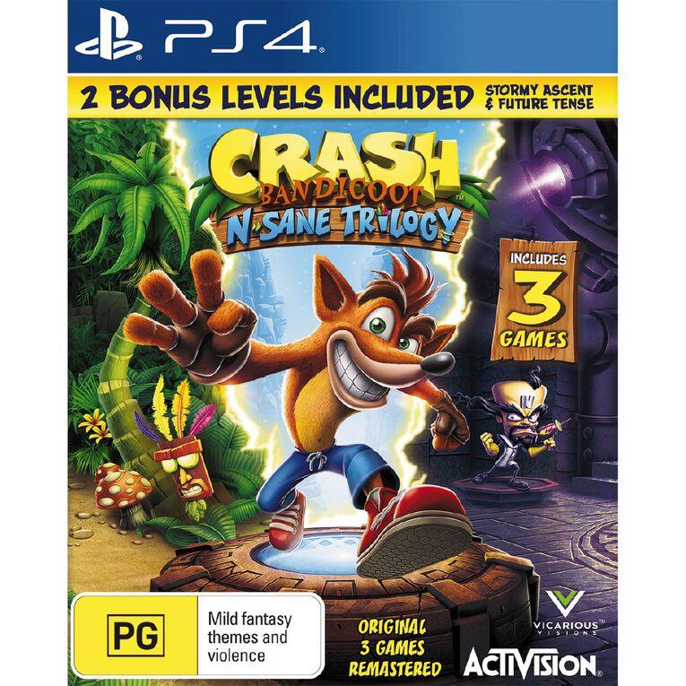 PS4 Crash Bandicoot n Sane Trilogy, , hi-res