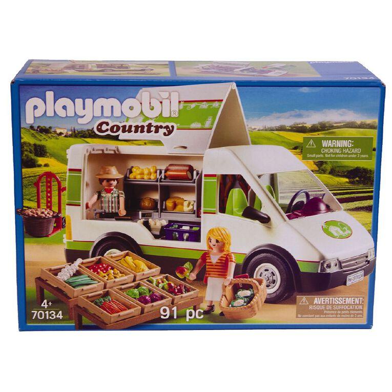 Playmobil Mobile Farm Market, , hi-res
