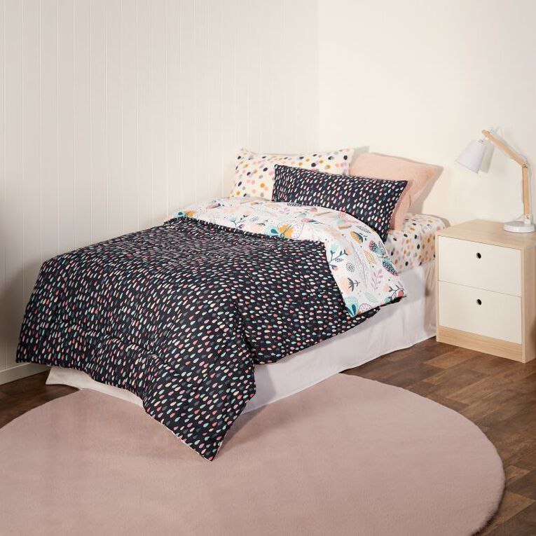 Living & Co Kids Bed In a Box Set Butterfly Pink Single, , hi-res image number null