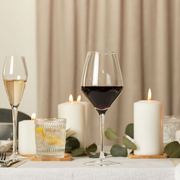 Living & Co Maya White Wine Glass 4 Pack 450ml, , hi-res