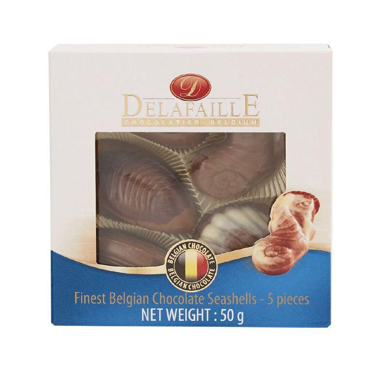 DELAFAILLE Assorted Seashells Chocolate 50g, , hi-res