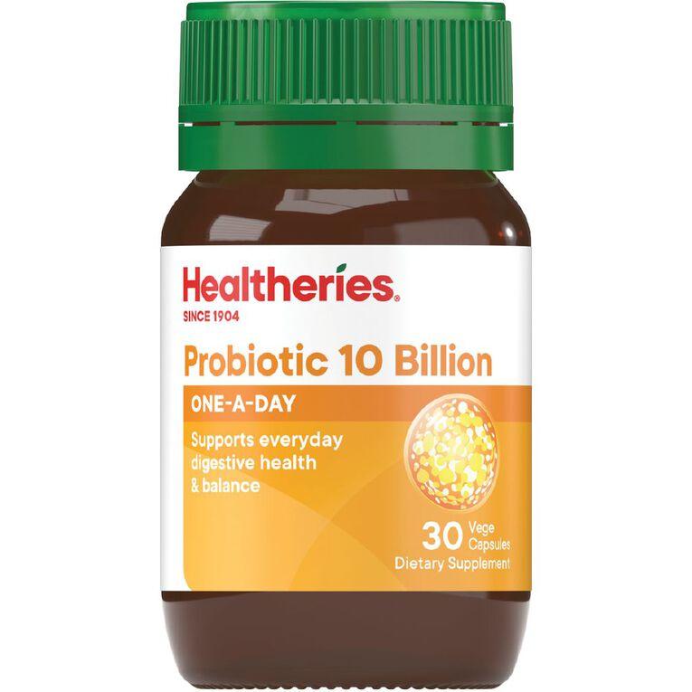 Healtheries Probiotica 10 Billion 30s, , hi-res