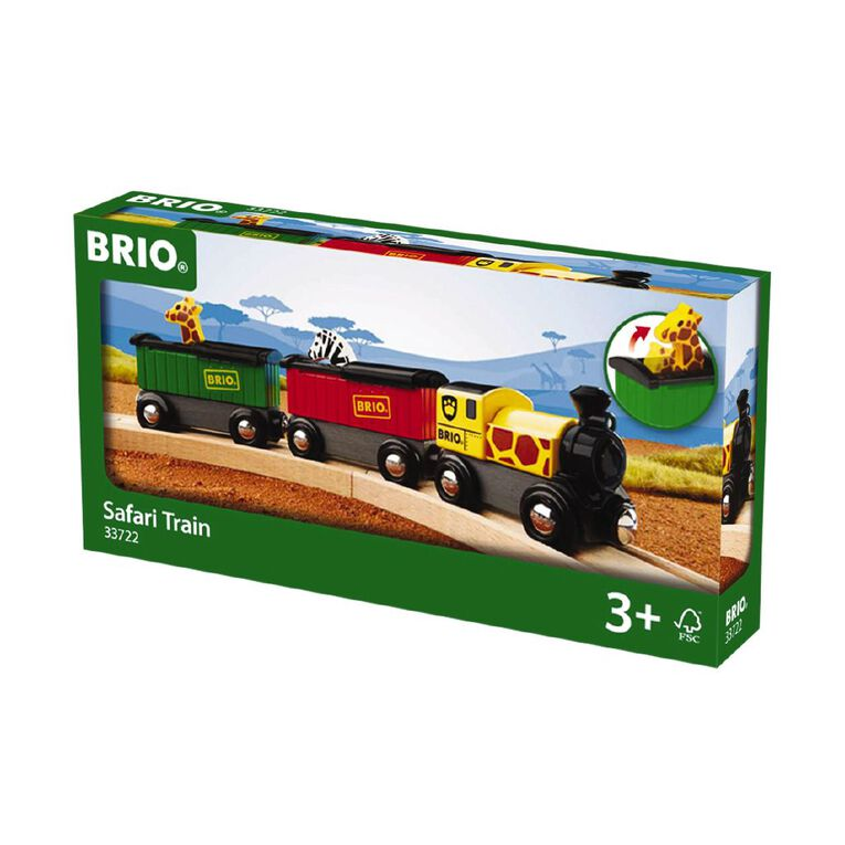 Brio Safari Train 3 Piece, , hi-res