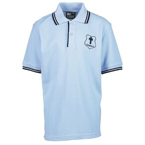 Schooltex St Mary's Hastings Short Sleeve Polo with Embroidery