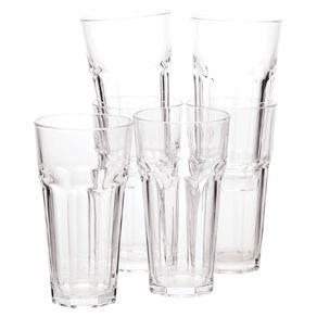 Living & Co Bistro Hiball Glass Tumbler 6 Pack