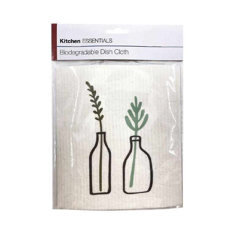 Kitchen Essentials Biodegradable Dish Cloth, , hi-res