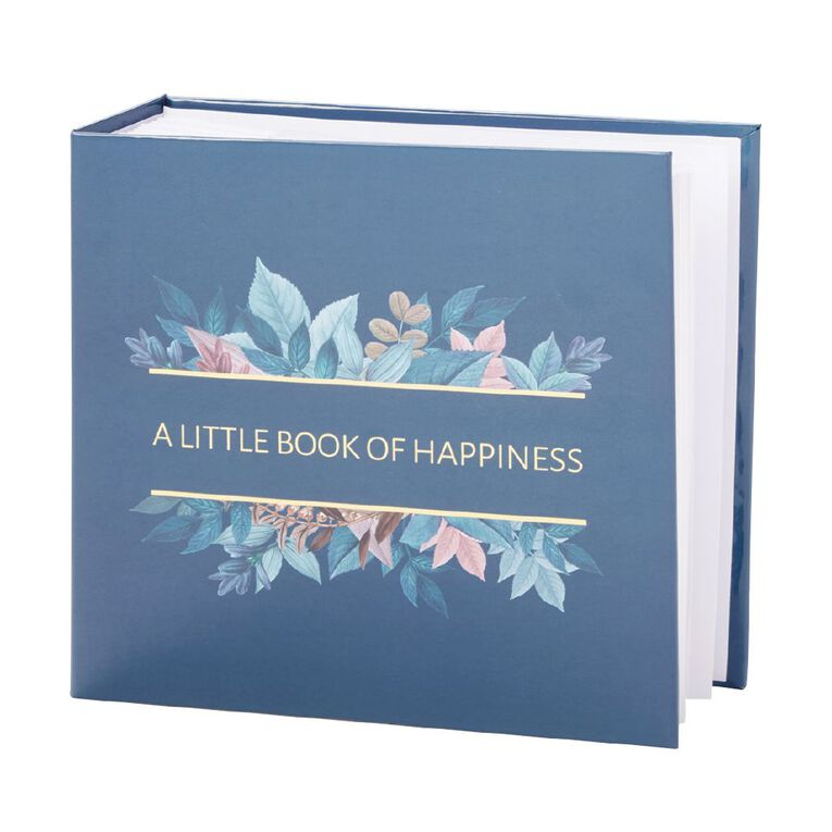 Living & Co Photo Album Little Book of Happiness 200 Pockets 4in x 6in, , hi-res