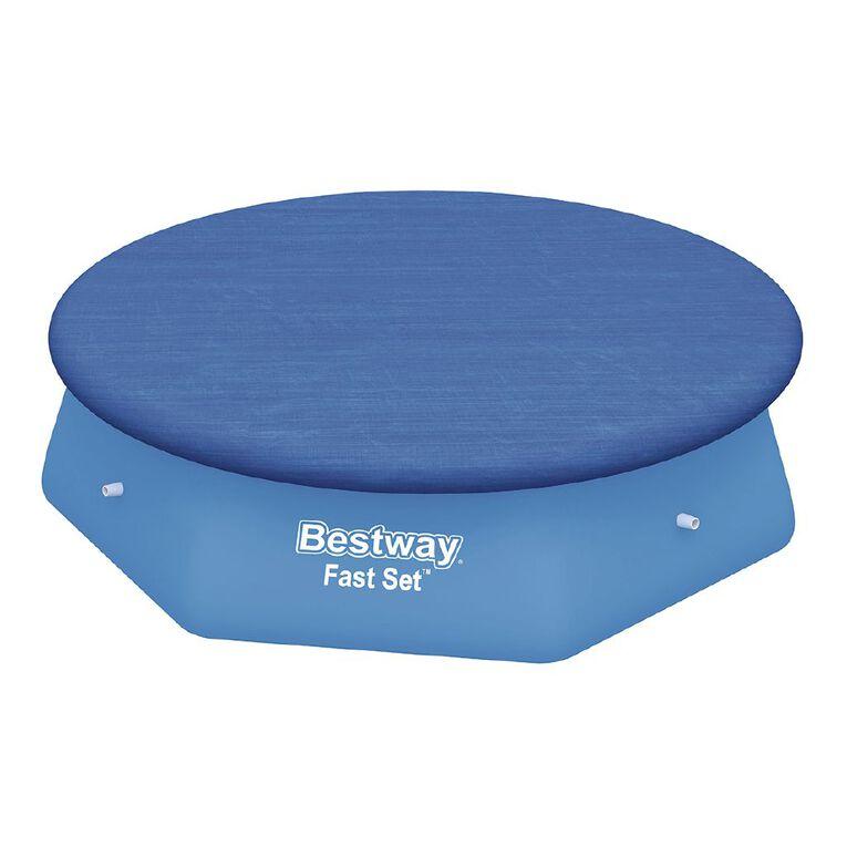 Bestway Fast Set Pool Cover 8ft, , hi-res