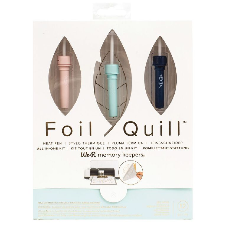 We R Memory Keepers Foil Kit Quill All-In-One, , hi-res