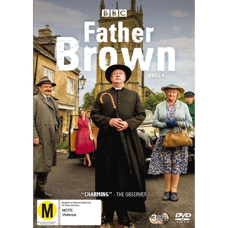 Father Brown Season 4 DVD 3Disc, , hi-res