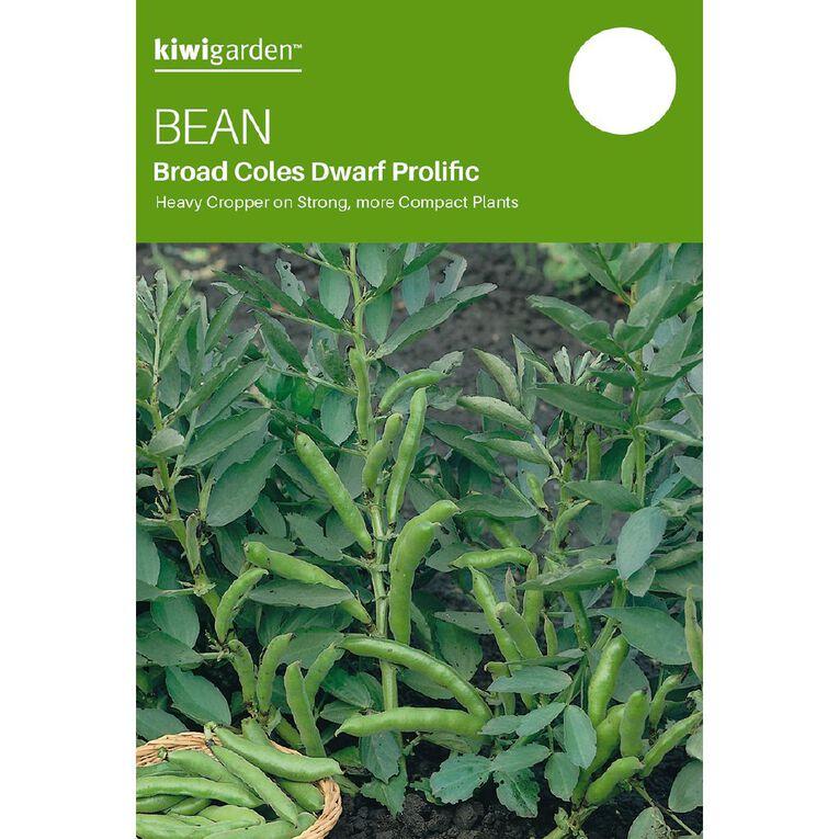Kiwi Garden Broad Bean Coles Dwarf Prolific, , hi-res