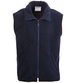 Schooltex Adults' Sleeveless Polar Fleece Vest