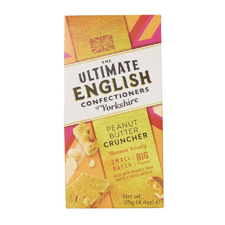Ultimate English Ultimate English Peanut Butter Cruncher 125g, , hi-res