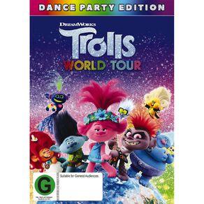Trolls World Tour DVD 1Disc