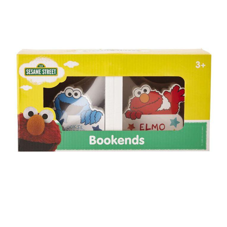 Sesame Street Timber Bookends, , hi-res