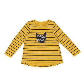 Young Original Toddler Long Sleeve All Over Print Tee