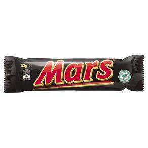 Mars Chocolate Bar 53g