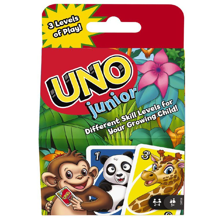 UNO Junior Card Game, , hi-res