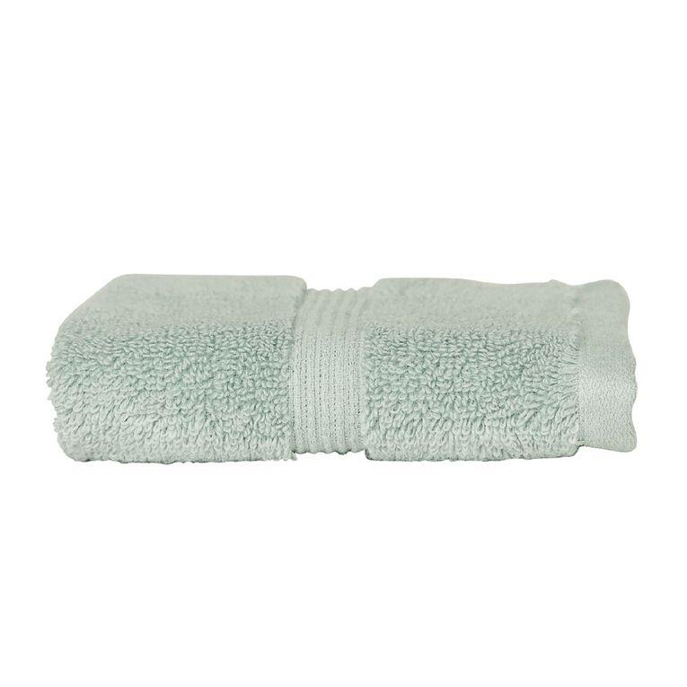 Living & Co Montreal Face Towel Green Light 30cm x 30cm, Green Light, hi-res