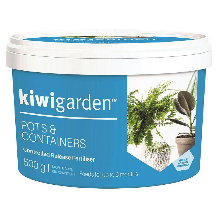 Kiwi Garden Pots & Containers Controlled Release Fertiliser 500g, , hi-res
