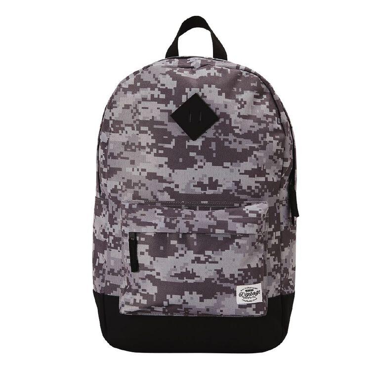 H&H Vintage Backpack, Grey CAMO, hi-res