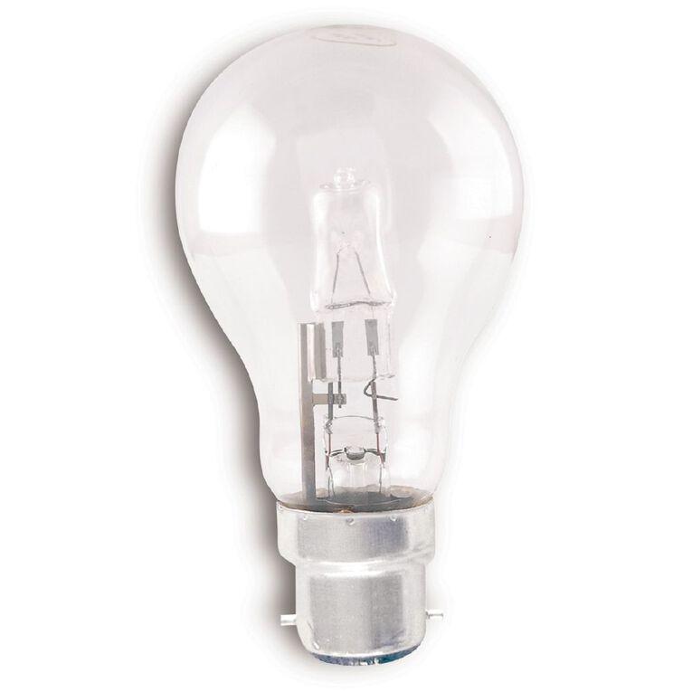 Edapt Halogen B22 Classic Light Bulb Clear 42w Warm White, , hi-res