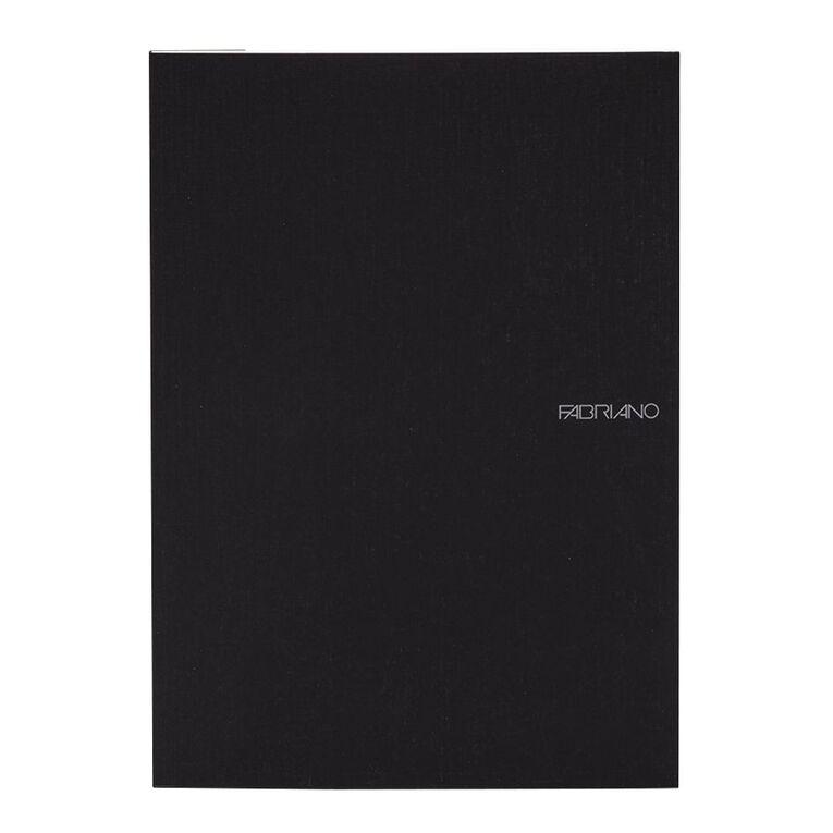 Fabriano Ecoqua Sketchbook Dotted 85GSM 90 Sheets Black A4, , hi-res