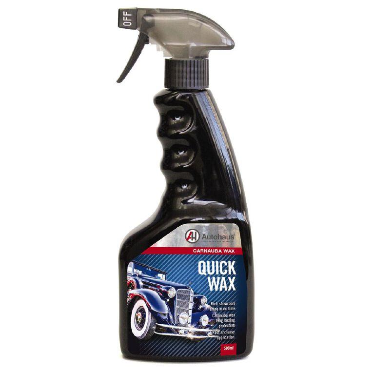 Autohaus Quick Wax Trigger Sprayer 500ml, , hi-res